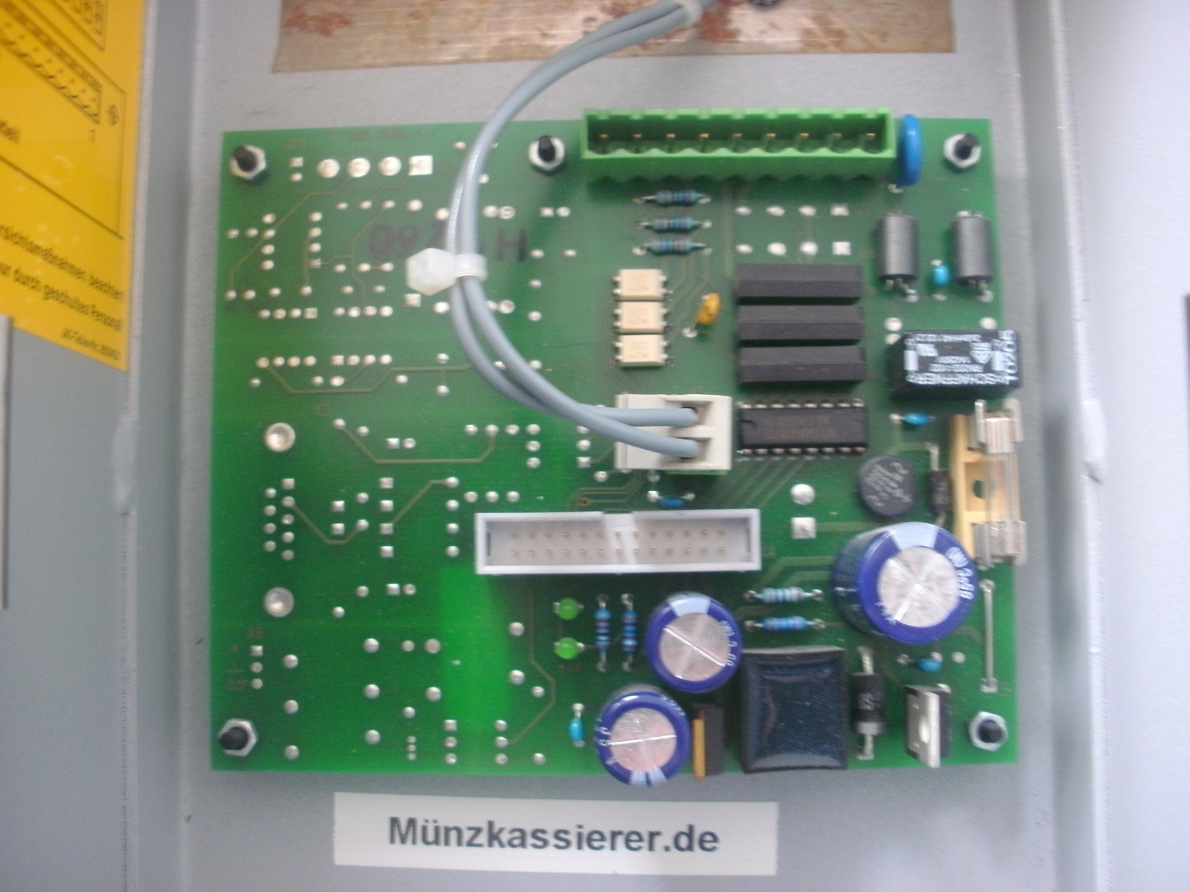 Ergoline MCS IV PLUS Netzteil Platine Netzplatine Münzkassierer.de