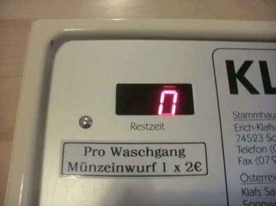 Münzkassierer Münzautomat Münzer Münzgerät Waschmaschine Trockner Münzkassierer.de