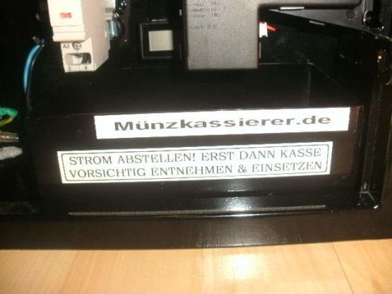 Münzkassierer TOP Münzautomat Münzer Münzgerät Waschmaschine Trockner Münzkassierer.de