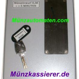 Münzkassierer.de Münzautomaten.com Beckmann EMS55 EMS 55 MÜNZAUTOMAT DUSCHE m. 24 Volt Kleinpannung