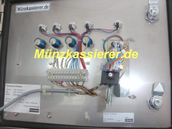 Münzautomaten.com Münzkassierer.de Franke Münzgerät für 4 x Dusche