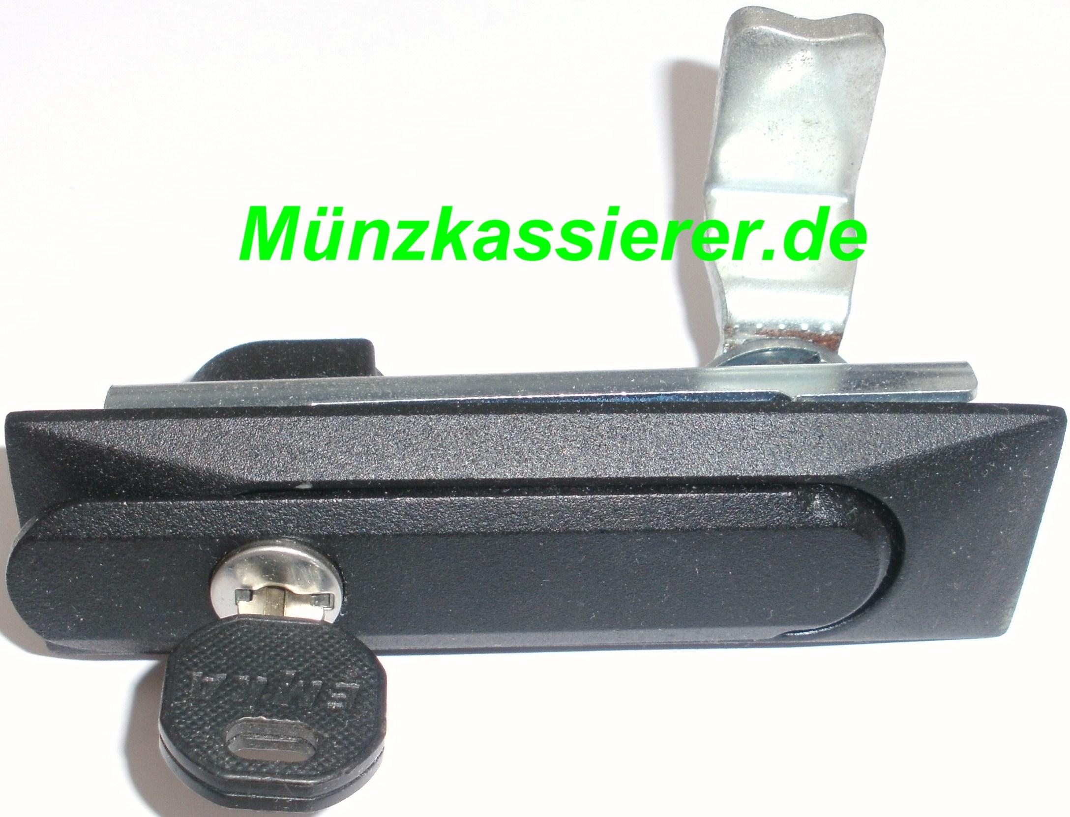Münzkassierer.de Münzautomaten.com SI Steuerung SI Elektronik Schloss mit Verriegelung Schlüssel