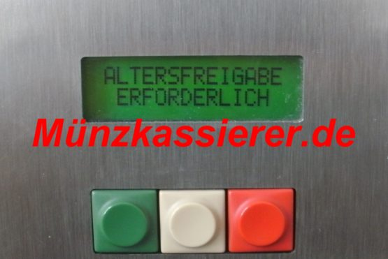 Münzautomaten.com Münzkassierer.de Beckmann EMS335 EMS 335 mit Dokumentenprüfer Altersnachweis