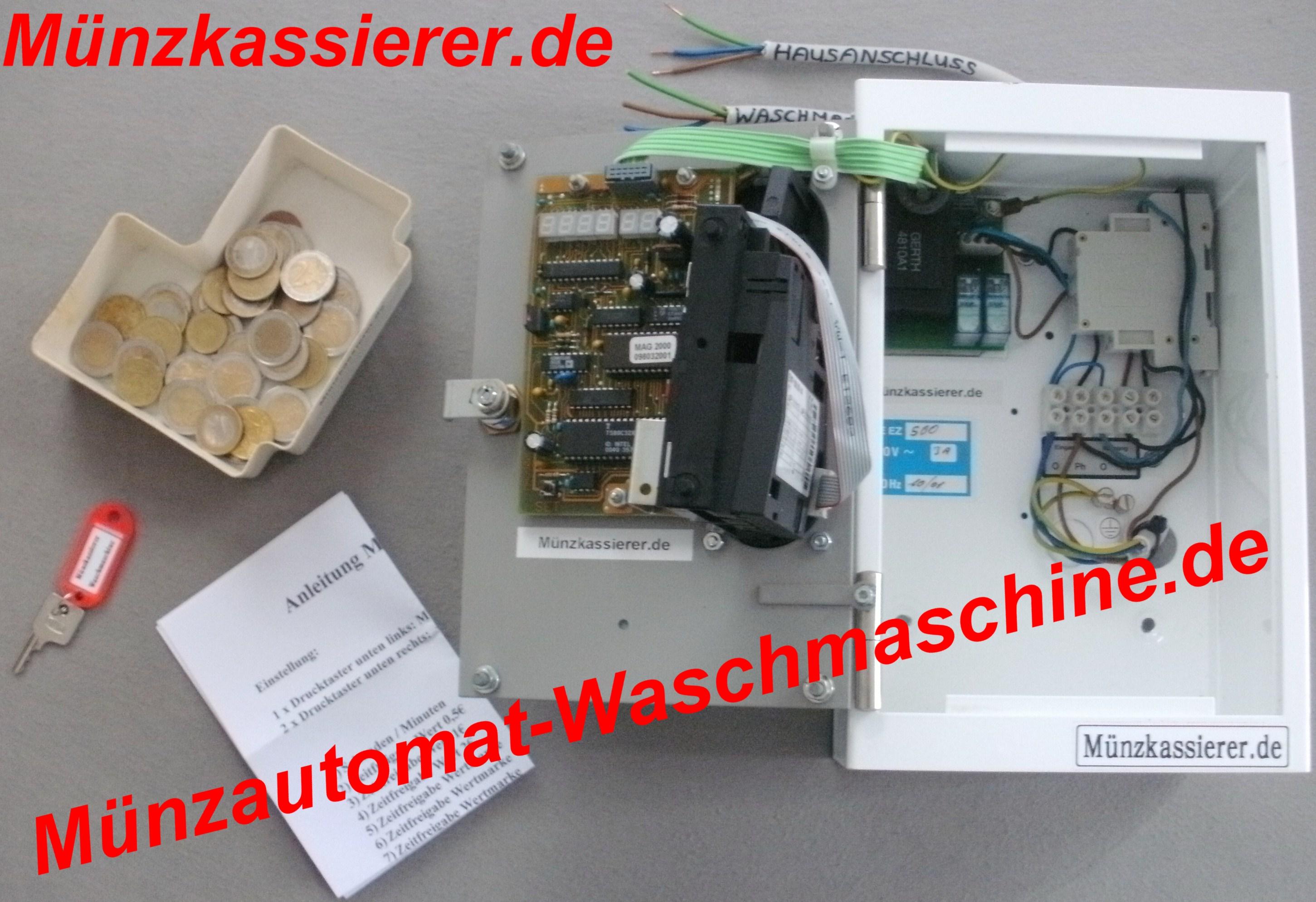 Münzautomat MAG EZ500 M-A-G EZ-500 Waschmaschine Münzautomat-Waschmaschine.de Kaufen