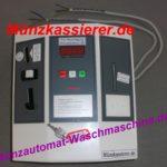 Münzautomat Waschmaschine Münzkassierer Holtkamp Tandem mit Chipkartenfunktion