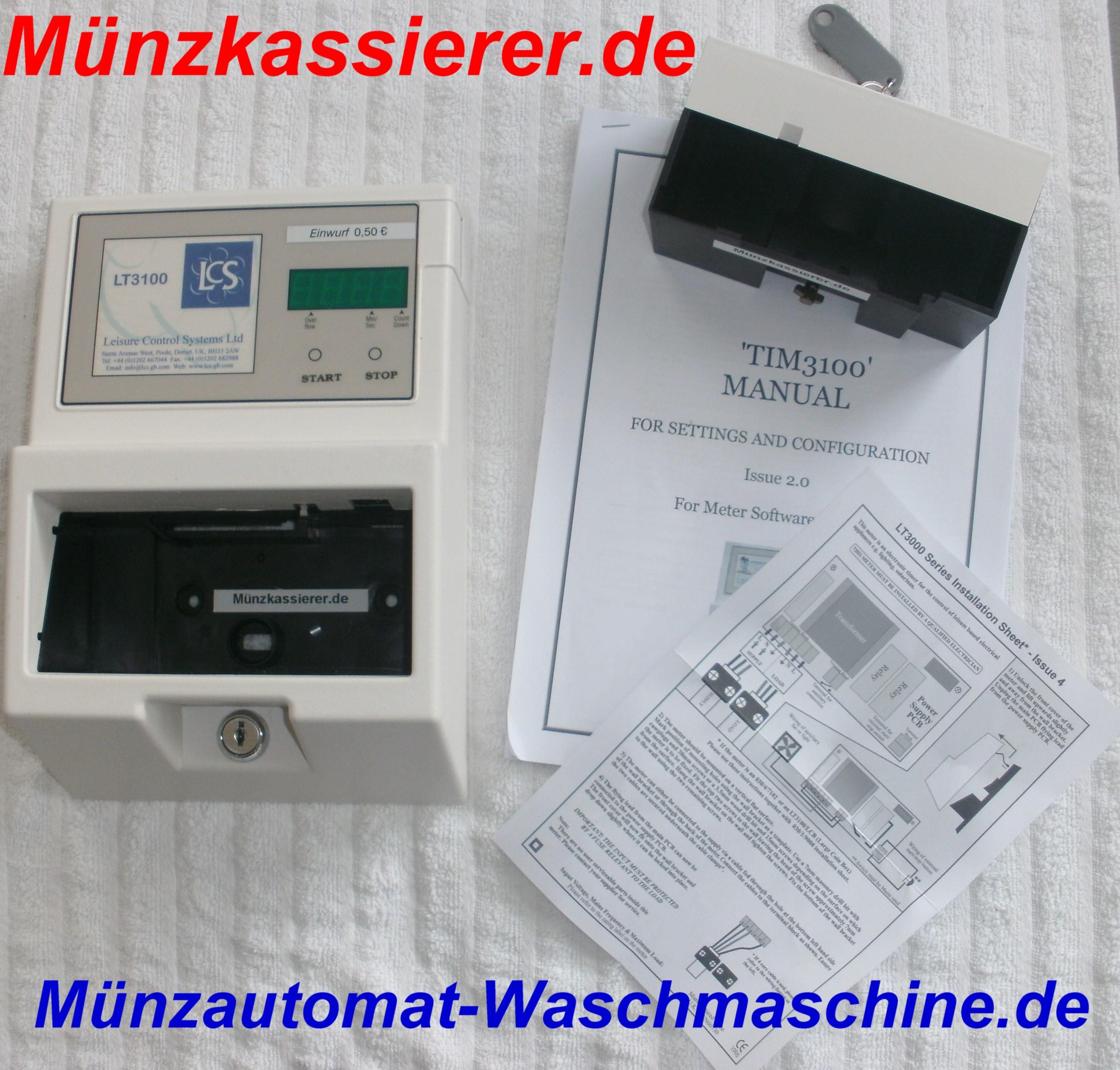 Münzautomat Waschmaschine Squash Solarium Münzkassierer