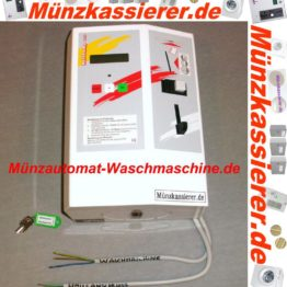 Münzautomat Waschmaschine Türentriegelung Bargeld u. Chipkarten-Münzkassierer.de-5