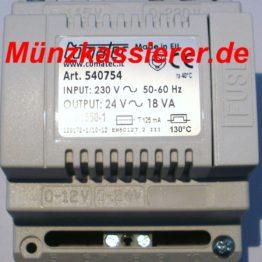 230 - 240 Volt AC ~ auf 24 Volt AC ~