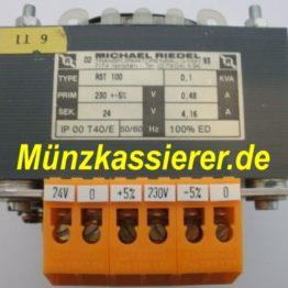 Riedel RST 100 TRAFO Transformator Netzteil 230VAC 24VAC 100VA Kleinspannung 5