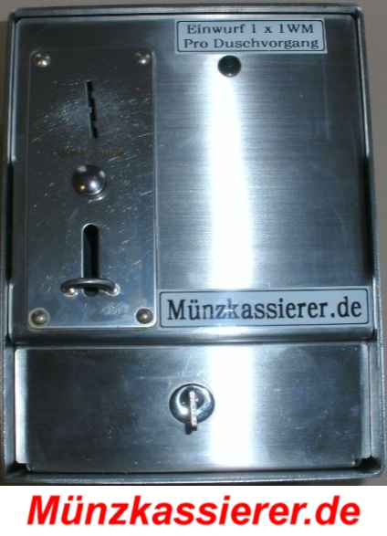 Münzkassierer DUSCHE Duschmünzer Münzkassierer.de Preiswerte Duschmünzer (1)