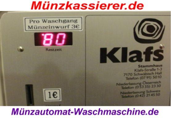 MUENZAUTOMAT WASCHMASCHINE 230-380V 1 EURO Einwurf (9)