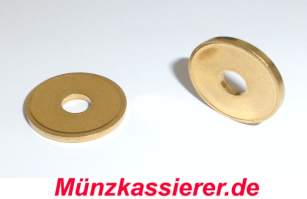 10 x Wertmarken Jetons Token Duschmarken Wh Münzprüfer Ø 21 x 2,2mm (3)