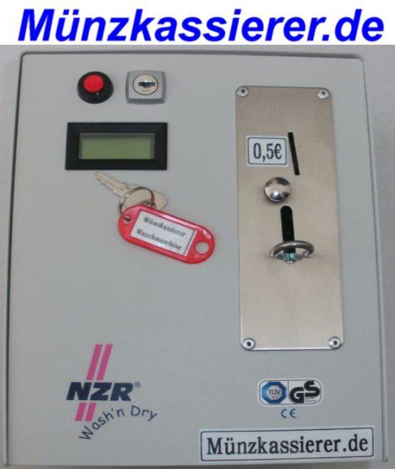 Münzkassierer Waschmaschine NZR Wash'n Dry m. Türentriegelung Münzkassierer.de . (4)