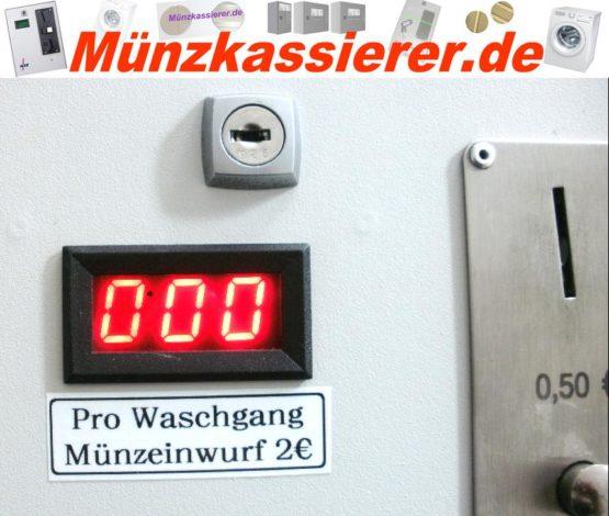 Münzautomat Zeitverkaufsautomat Wachmaschine 50Cent Einwurf-Münzkassierer.de-0