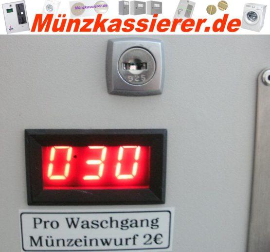 Münzautomat Zeitverkaufsautomat Wachmaschine 50Cent Einwurf-Münzkassierer.de-1