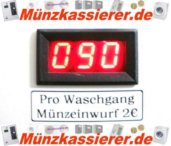 Münzautomat Zeitverkaufsautomat Wachmaschine 50Cent Einwurf-Münzkassierer.de-3