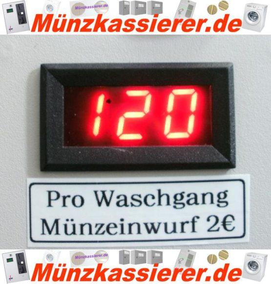 Münzautomat Zeitverkaufsautomat Wachmaschine 50Cent Einwurf-Münzkassierer.de-4