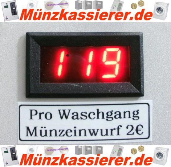Münzautomat Zeitverkaufsautomat Wachmaschine 50Cent Einwurf-Münzkassierer.de-5