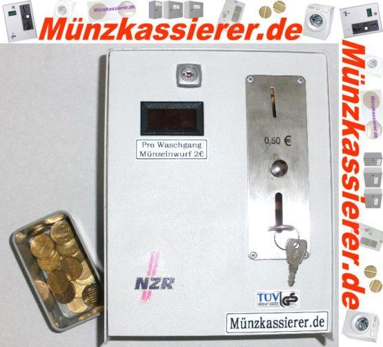 Münzautomat Zeitverkaufsautomat Wachmaschine 50Cent Einwurf-Münzkassierer.de-7