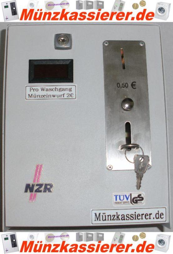 Münzautomat Zeitverkaufsautomat Wachmaschine 50Cent Einwurf-Münzkassierer.de-8