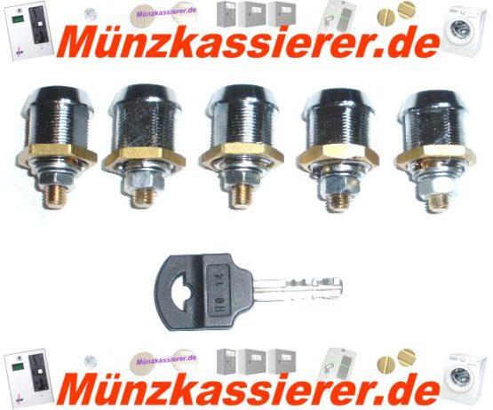 5 x Schloss Holtkamp DUO 8600XL 8600 XL gleichschliessend-Münzkassierer.de-6
