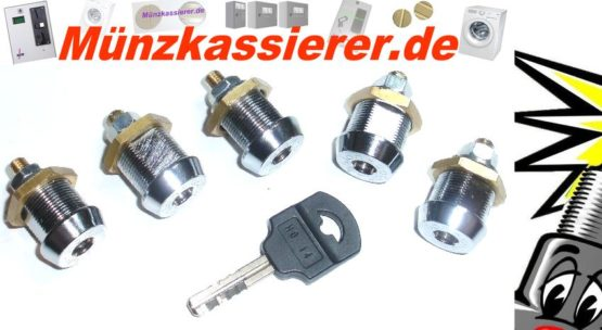 5 x Schloss Holtkamp DUO 8600XL 8600 XL gleichschliessend-Münzkassierer.de-7